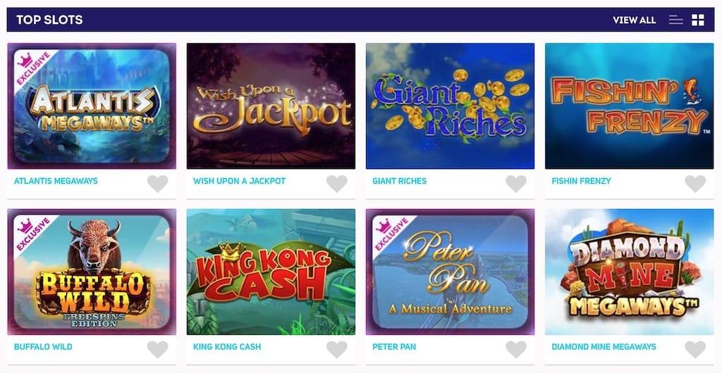 Magical Vegas Top Slots