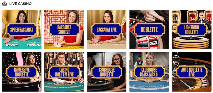 Foxy Games Live Casino
