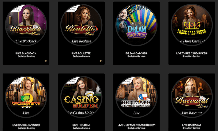 Grand Ivy Live Casino
