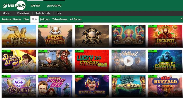 Greenplay Slots