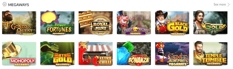 SlotsMillion Megaways Slots