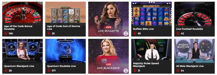 Sun Vegas Live Casino