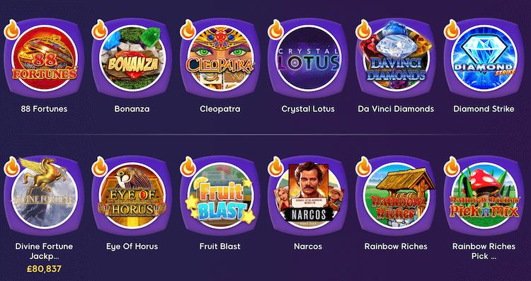 Wink Slots Top Games