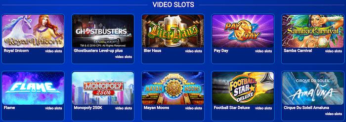 All British Casino Video Slots