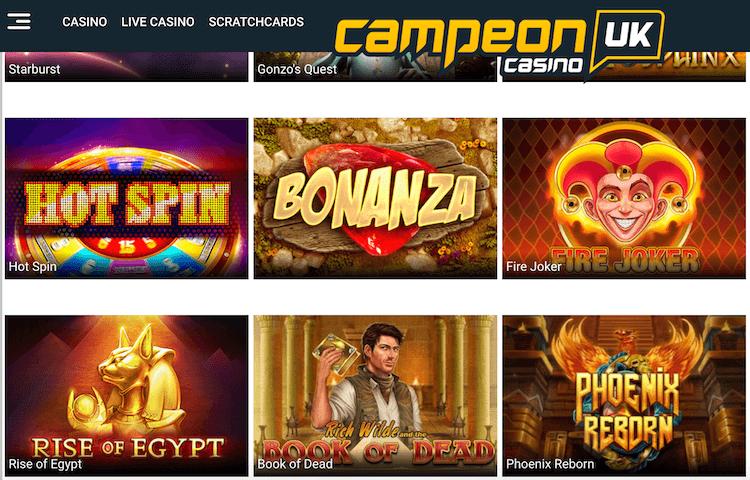 CampeonUK Slots