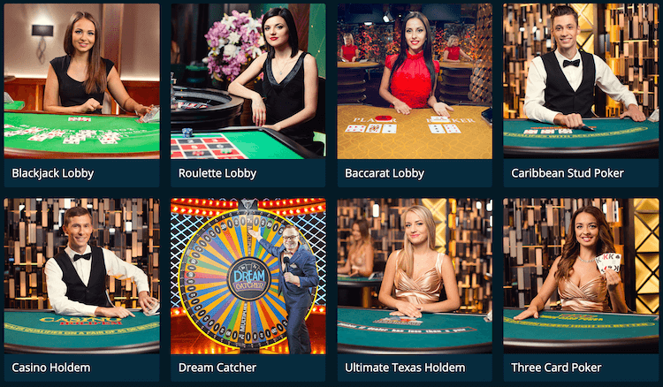 Casinoland Live Casino