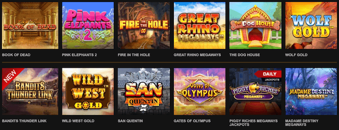 Videoslots Slot Games