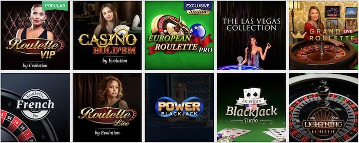 Lucky Vegas Live Casino