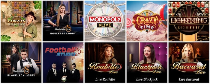 Skol Casino Live Casino Games