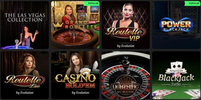 Swift Casino Live Games